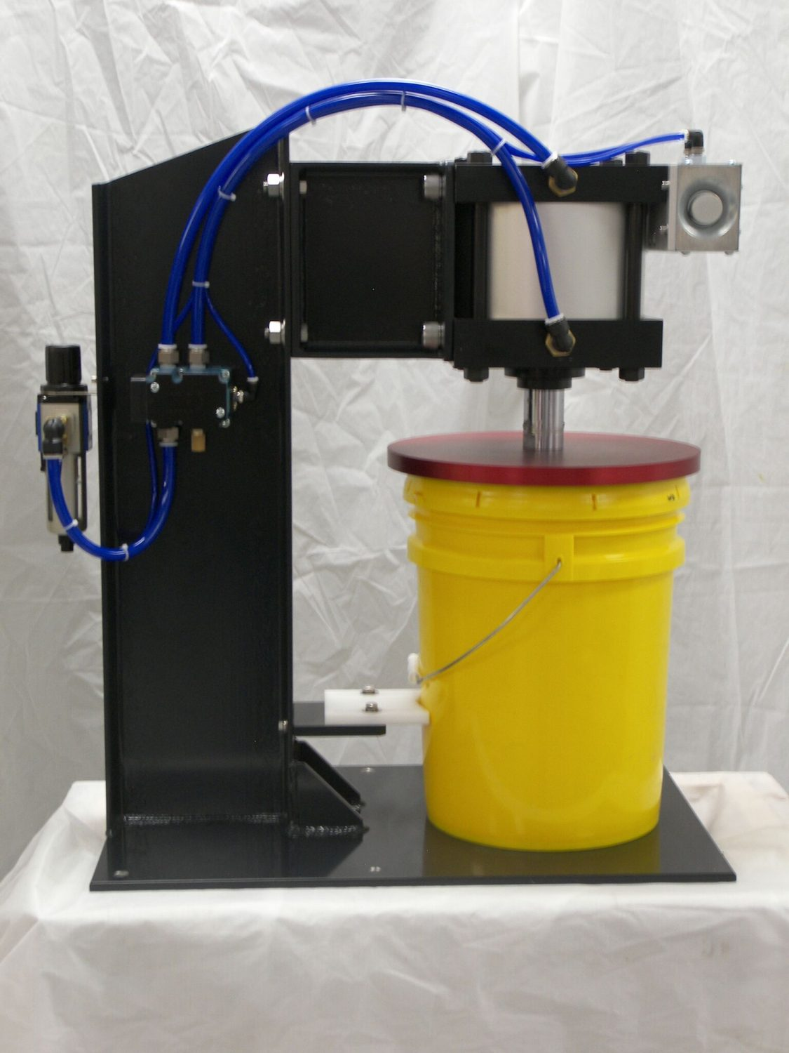 5 Gallon Bucket Table Top Lid Press Xpect Solutions