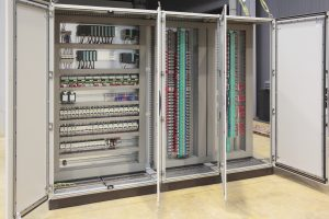 Automation barriers panel board