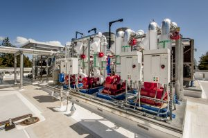 Rooftop HVAC Pumps and Control Panels