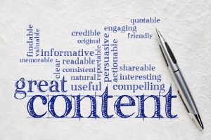 wrting great content concept